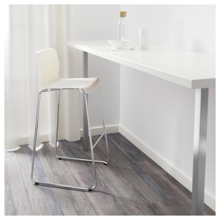 UTBY Leg stainless steel 101.5 cm   Mesas altas cocina