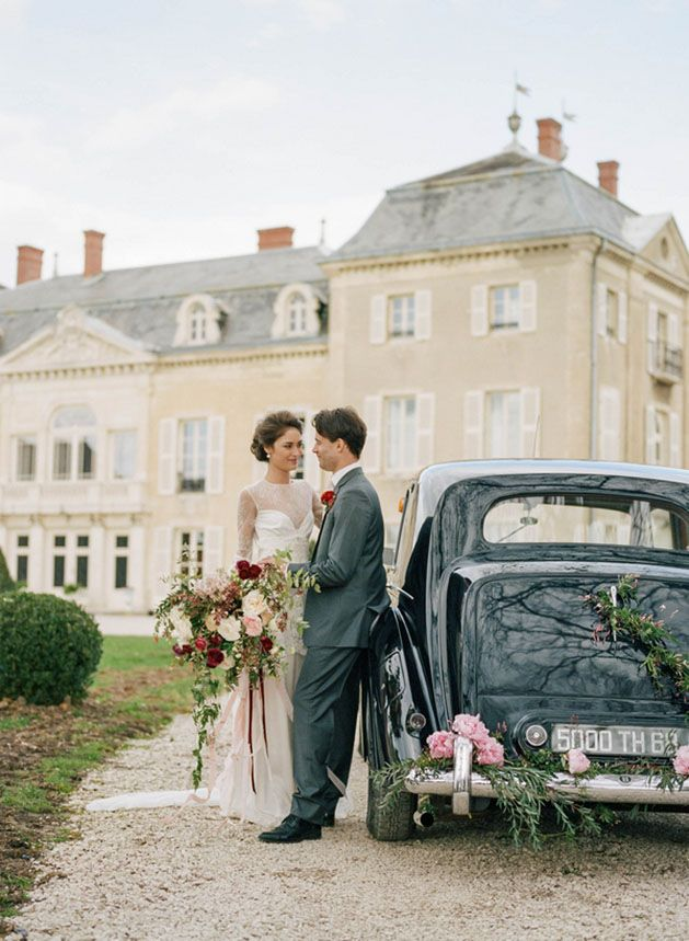 Charming French Wedding Inspiration at Chateau de Varennes