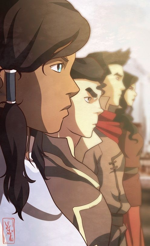 This Is Only The Beginning | by YvanieArtMaker | Legend of Korra | Avatar