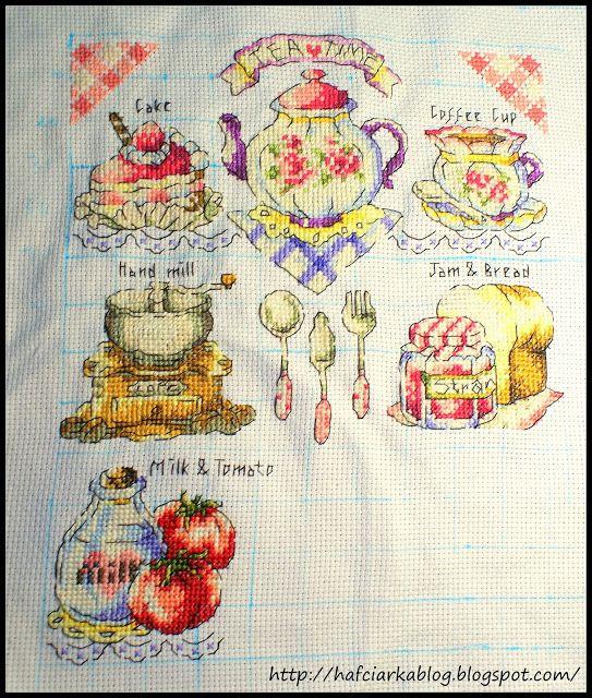 """Hafciarka: SAL """"Tea time"""" - 6/9"""
