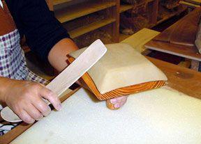 Japanese way of making slab bowl