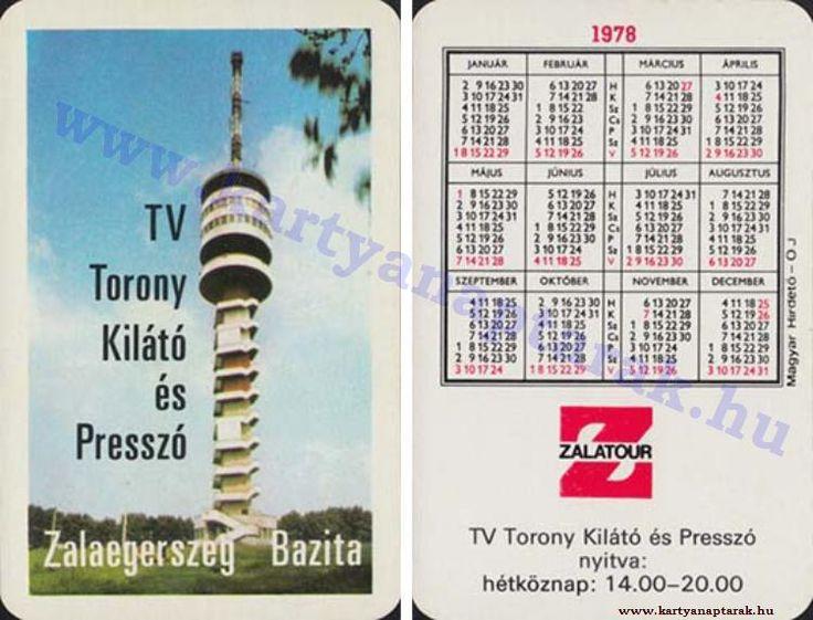 1978 - 1978_0913 - Régi magyar kártyanaptárak