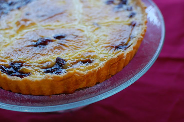 Cranberry Maple Tart from Eating from the Ground Up blog