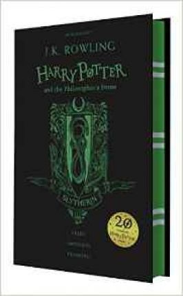 Harry Potter and the Philosopher's Stone - Slytherin Edition : J. K. Rowling : 9781408883761   Celebrate 20 years of Harry Potter magic with four special editions of Harry Potter and the Philosopher's Stone. Gryffindor, Slytherin, Hufflepuff, Ravenclaw
