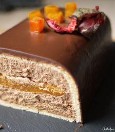 buche chocolat fruit de la passion