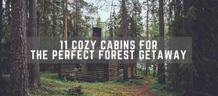 Today we're gathering cozy cabins in the woods that you can either buy or rent. They are all about the retreat, exploration and getting in touch with nature. Check them out. 1 - Ark Shelter Cabins Prefabricated cabins that can be placed anywhere you'd like. Ark Shelter is a company that creates cabins that are environment-friendly since they have little impact on the surrounding nature. This means if you want to own one, there is no need for construction mess, just choose a suitable a...