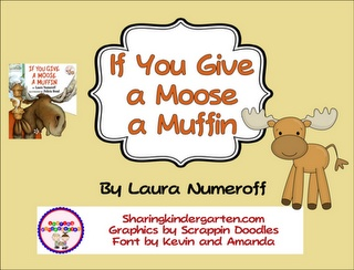 If You Give a Moose a Muffin game, phonics activity, and writing prompts... download the preview for 2 writing prompt freebies!