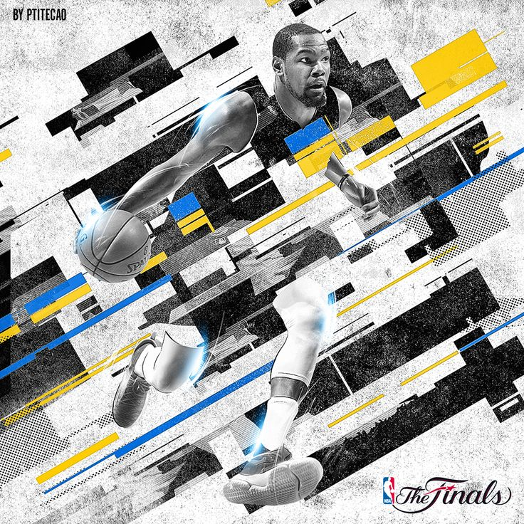 NBA Finals 2017 - Geometric series on Behance