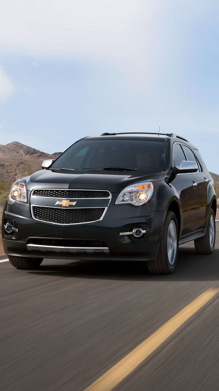 2012 chevy equinox crossover suv front angle shown in black granite metallic