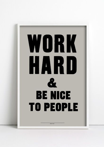 good morning sign for door or bathroom: Workhard, Work Hard, Inspiration, Be Nice, Quotes, Digital Clocks, Life Mottos, Living, People