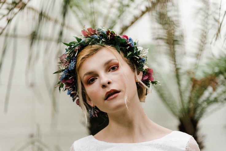 Flower Crown | Sheffield Botanical Gardens | Sarah Folega Fine Art Photography