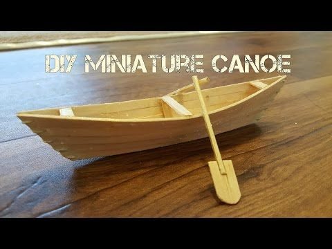 How to Make a Boat with Popsicle Sticks - Handmade - DIY Crafts - Creative with Ice-Cream Sticks - YouTube