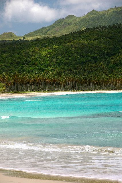 Playa Rincon, Samana. Most beautiful and secluded beach in Dominican Republic!
