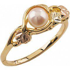 Black Hills gold + pearl
