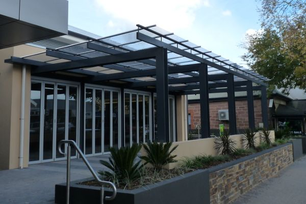 Sunglaze Solid Polycarbonate Architectural System Palram Architecture Commercial Roofing Roofing Systems