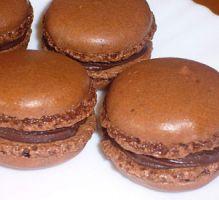 Recette - Mes premiers Macarons au chocolat - Notée 4.3/5 par les internautes