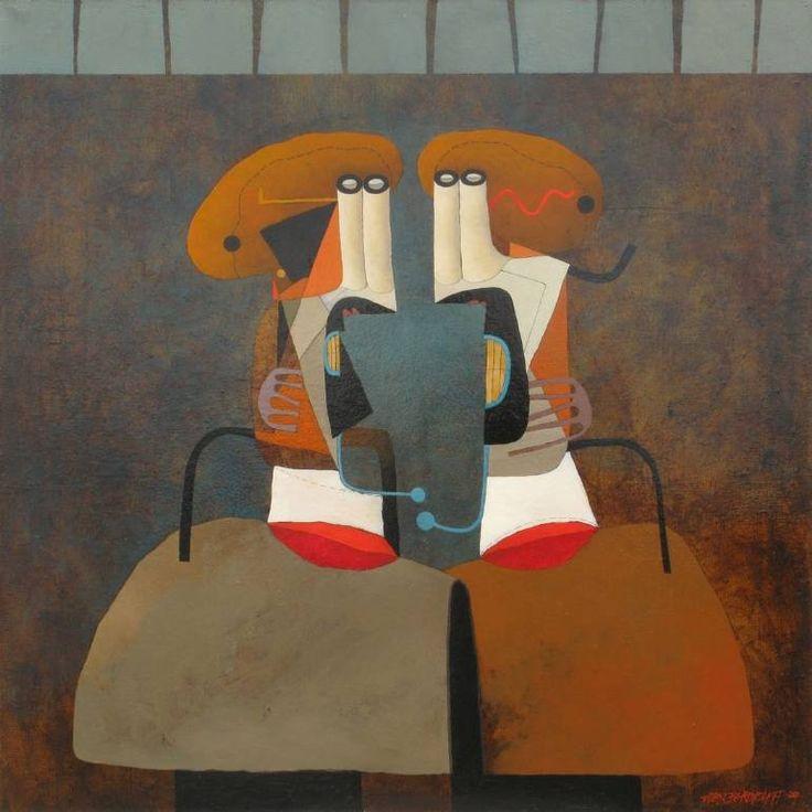 """Saatchi Art Artist Alex Berdysheff; , """"Confession"""" #art"""