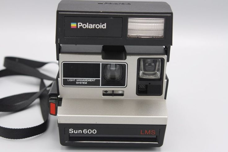 Vintage Polaroid Sun 600 LMS Instant Film Camera Tested and Working | eBay