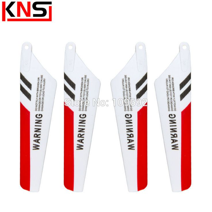 Free Shipping 4PCS/Set Main Blade SYMA S107G S107 Parts RC Mini Helicopter Toys Spare Parts Blades S107C Propellers Accessories