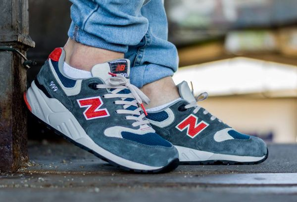 more photos f8e5b 28f9e new balance 999 blue grey