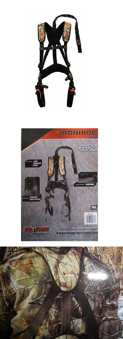 Blind and Tree Stand Accessories 177912: Big Game Treestands The Ironhide Harness Model Cr65-V New Osfm -> BUY IT NOW ONLY: $44.95 on eBay!