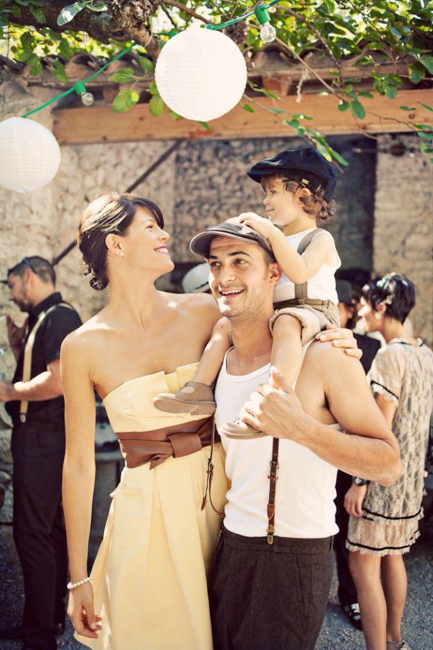 Un mariage rétro à Montpellier | la mariee aux pieds nus