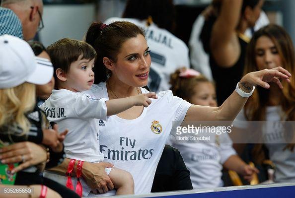 News Photo : Pilar Rubio Fernandez, girlfriend of Sergio Ramos...