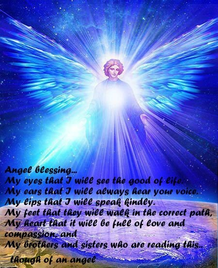 Inspirational Quotes About Positive: Angel Blessings Quotes. QuotesGram