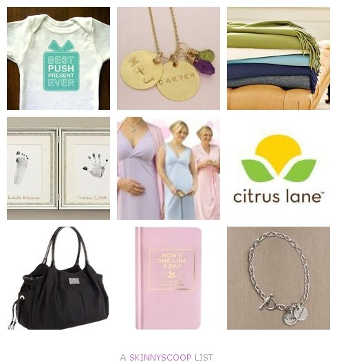 Best Push Presents for New Moms