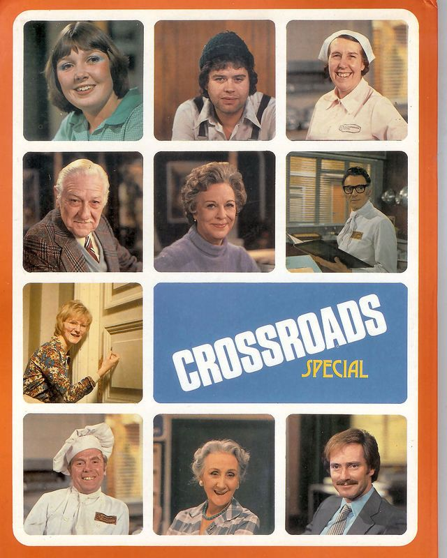 Remembering some of the Crossroads characters... Brenda, Benny, Jane, etc. I met Noele Gordon way back in the early 70s when she was opening a supermarket in Ipswich!