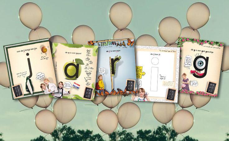 ★ Jarig! ★ Ben jij op zoek naar een origineel, vrolijk én leerzaam cadeau?  http://www.letterslereniseeneitje.nl/verkooppunten.html #lettersleren #leesplezier #lerenlezen