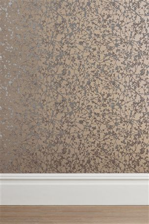 Buy Paste The Wall Blossom Mink Wallpaper from the Next UK online shop