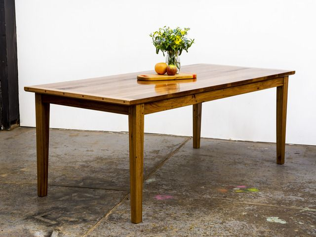 The 'Old Stud' Dining Table by GLENCROSS WOODWORKS - Dining Table, Made To Order, Custom Made, Recycled Timber, Solid Timber, Table, Traditional, Contemporary, Rustic, Melbourne