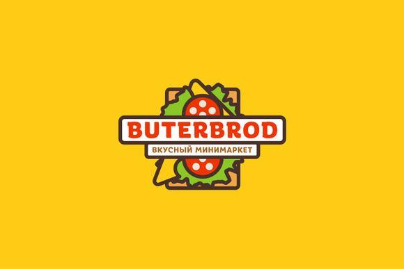 ButerBrod by LogoCreator on Creative Market еда, есть, закуска, завтрак, обед. ужин, сэндвич, бутерброд, кафе, магазин, ресторан, колбаса, хлеб, сыр, зелень, продукты, логотипы, плоские, бесплатно  food, eat, snack, breakfast, lunch. dinner, sandwich, sandwich,  cafe, shop, restaurant, sausage, bread, cheese, herbs, products, logos, flat, free