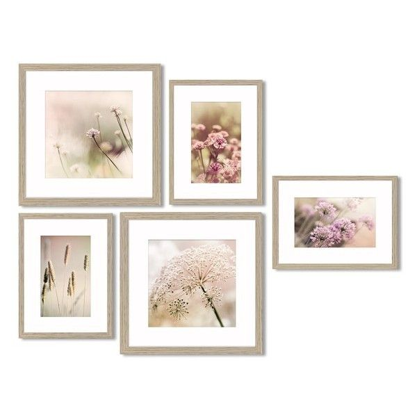 Crystal Art Gallery 5 Piece Framed Wall Art Gallery 30 Liked On Polyvore Featuring Home Home Decor Wall Art Art Gallery Wall Framed Wall Art Crystal Art