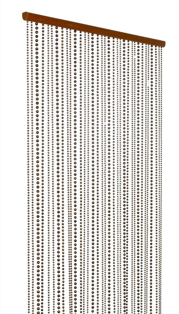 Ivory Pearl Beaded Curtain 8 Feet Long Bamboo Beaded Curtains