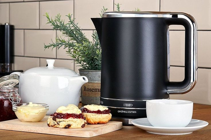 Fast Boil Lumiglo Kettle Black 3000 Watts Andrew James Super Quiet Jug 1.7 Litre #FastBoilKettle