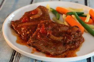 Slow Cooked Swiss Steak - Diana Rattray