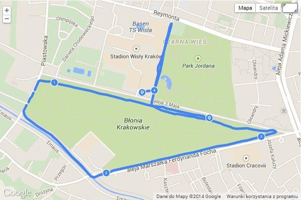 Trening z Garmina 220 w Connect i Endomondo - czyli co z tym drugim kilometrem? - Owca na wypasie
