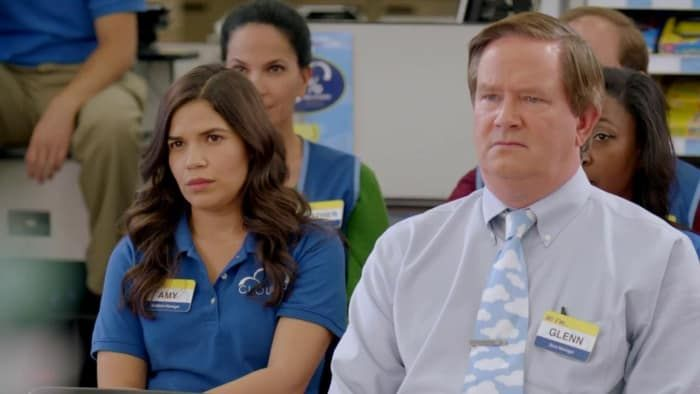 A Running List Of All The Name Tags Amy From Superstore Has Worn