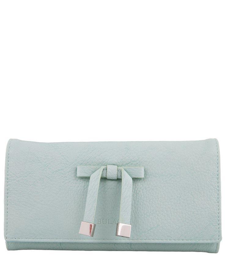 Basic Bow Wallet Portemonnees Bulaggi. Verkrijgbaar in zomerse kleuren. (€39,95)
