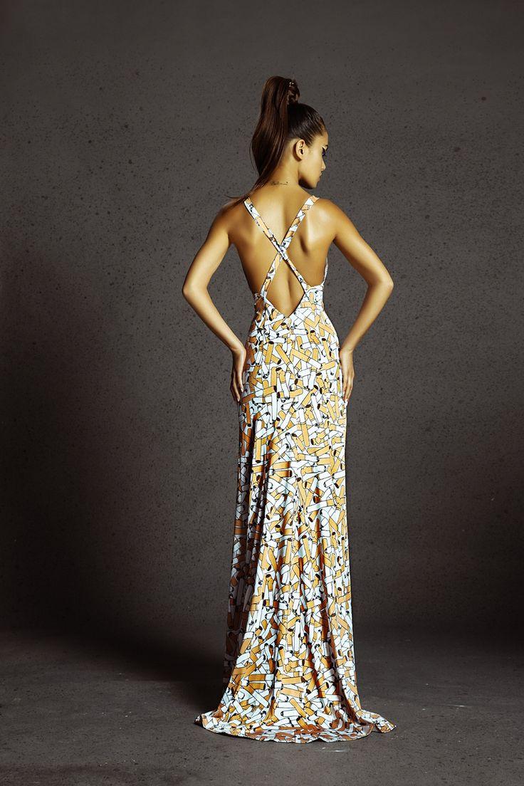 Cigarette dress www.bemytrash.com