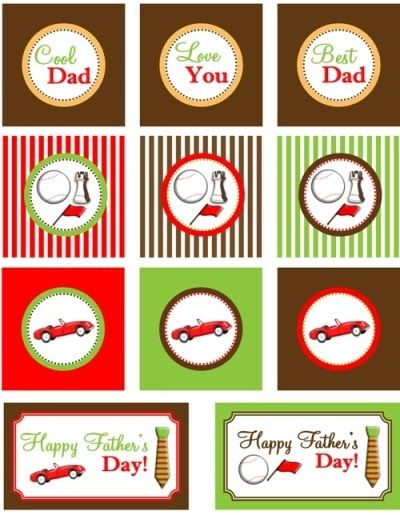 Free Father's Day Gift Tags!! #fathersday