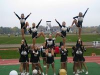 cheerleading pyramids images | Live. Breathe. Cheer.