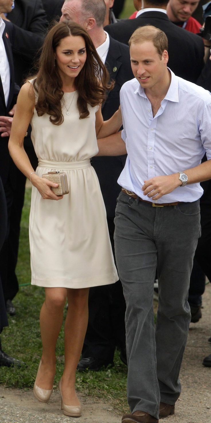 Prince William and Kate, the Duke and Duchess of Cambridge, visit to the Levis Community Celebration as they continue their Royal Tour of Canada Sunday, July 3, 2011, in Levis, Canada. (AP Photo/Charlie Riedel)