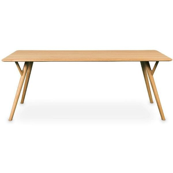 Unser GUSTAV Esstisch kann auch als Konferenztisch genutzt werden Eiche geschliffen, Pigmentölung in weiss Masse: 200 x 90 x 75 cm  Hergestellt in Europa Desi