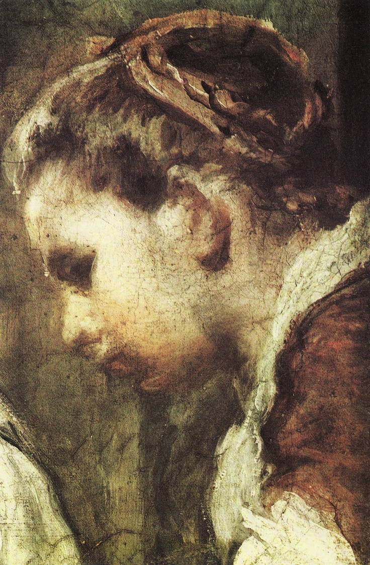 Velázquez. Las Hilanderas. (Detalle.)
