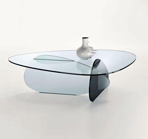 Karim Rashid Glass table