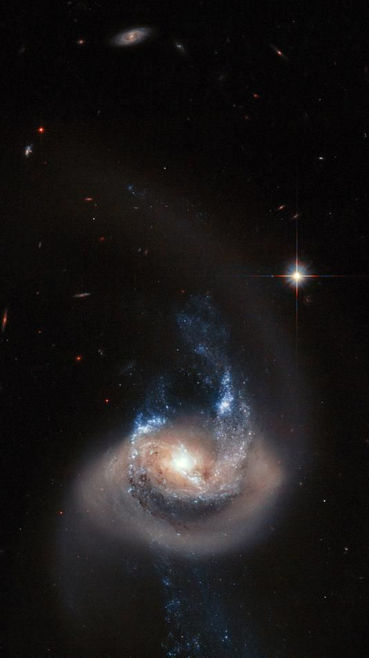 fine jewelry NGC 7714 is a spiral galaxy 100 million light years from Earth