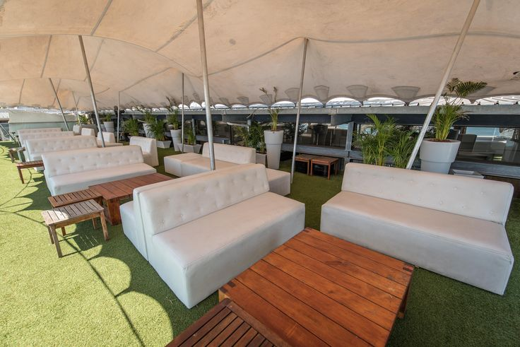 VIP Deck with amazing ocean views - perfect for a corporate meeting or drinks and cocktails www.shimmybeachclb.co.za or email functions@shimmybeachclub.co.za